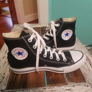 Converse All Star Black High Tops